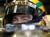 Бруно Сенна, тренировочные заезды за Renault на Гран При Венгрии 2011