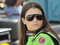 Даника Патрик на этапе в Нью-Хэмпшире серии IndyCar 2011