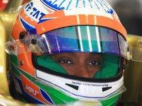 Нараин Картикеян, пятничные тренировки на Гран При Индии 2012