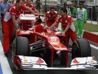 Болид Ferrari Фернандо Алонсо, Индия 2012