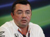 Эрик Булье - спортивный директор McLaren
