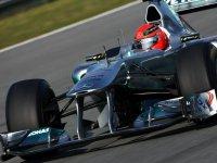 Михаэль Шумахер, второй день тестов в Хересе 2011