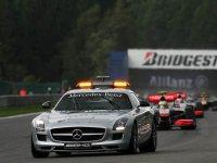 Автомобиль безопасности, Гран При Бельгии 2010