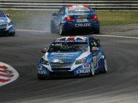 Роб Хафф - первый заезд на Гран При Италии 2011