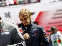Себастьян Феттель на Гран При Китая 2011