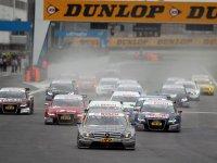 DTM, старт гонки в Адрии 2010