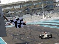 Серхио Перес на Гран При Абу-Даби 2010