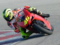 Валентино Росси, заезды на Ducati Superbike в Мизано
