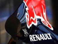 Защитный кожух двигателя автомобиля Red Bull RB7 2011