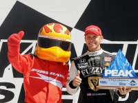 Эд Карпентер - победитель гонки в Кентукки серии IndyCar 2010