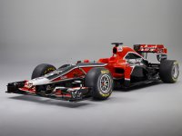 Новый болид MVR-02 команды Marussia Virgin Racing