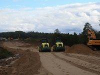 Фотоотчет о строительстве трассы на 77 км Новорижского шоссе