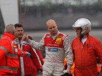 Алекс Према после аварии в Адрии, DTM 2010