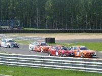 Старт второй гонки группы «Объединенный-2000» RTCC в Смоленске 2011