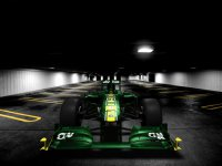 Болид T128 команды Team Lotus
