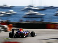 Себастьян Феттель в квалификации на Гран При Монако 2011