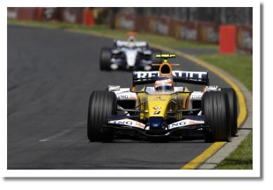 Хейки Ковалайнен на ГП Австралии 2007