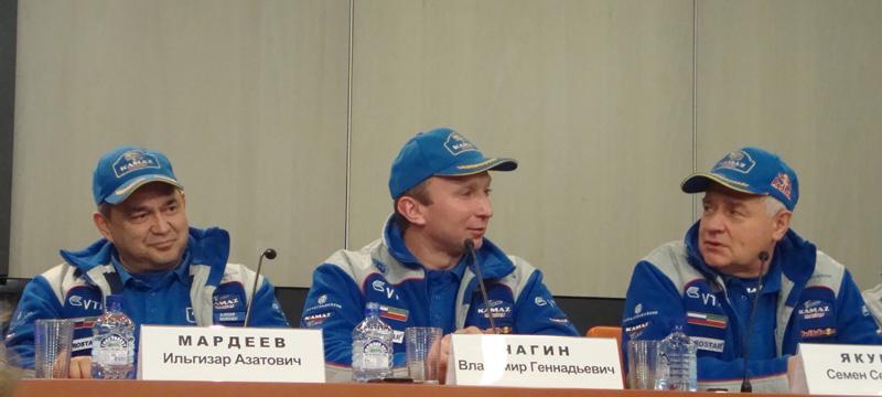"""2011-12-27. Пресс-конференция команды """"КАМАЗ-Мастер"""""""