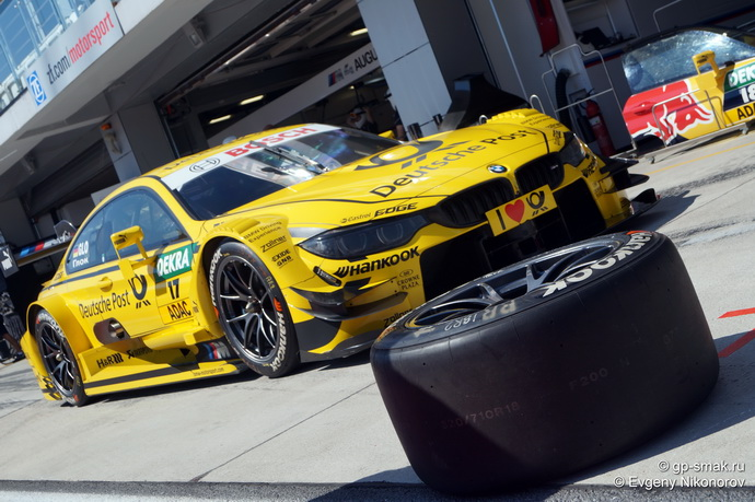 DTM 2014 на Moscow Raceway