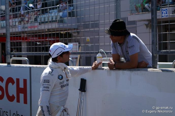 Бруно Спенглер на Moscow Raceway 2014