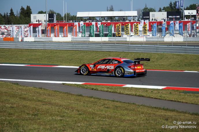 Виталий Петров на Moscow Raceway 2014